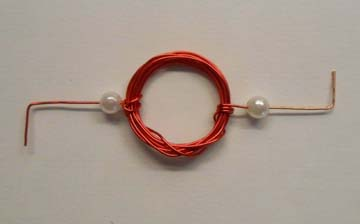 Coil with bent ends