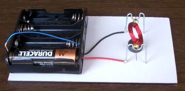 Motor with 1 magnet - design #1
