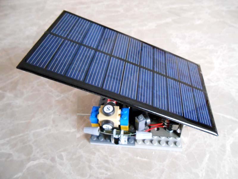 Solar panel with QuikLock motor #13