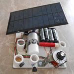 Kit #10: All-in-One Kit with Switch and Solar Panel