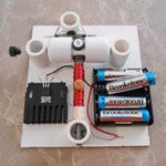 Kit #5: Reed Switch Motor with Transistor