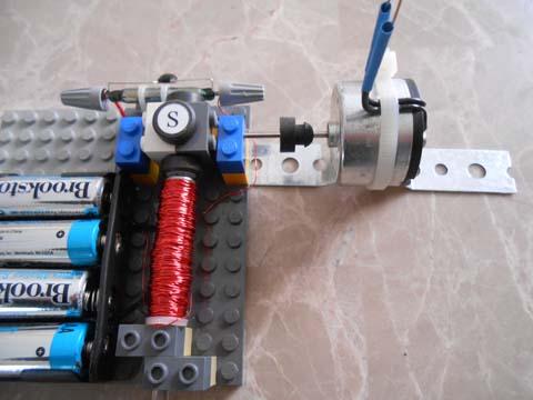 Generator connection to QuikLock motors