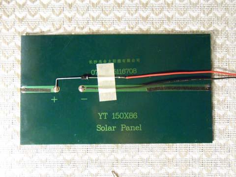 Solar panel - Step 2