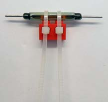 Attaching reed switch - step2