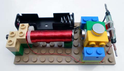 Motor, assembled from kit #12 (without safety ring)