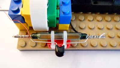 Connected reed switch and ZNR