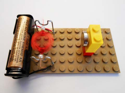 Experiment with distance from coil to magnet
