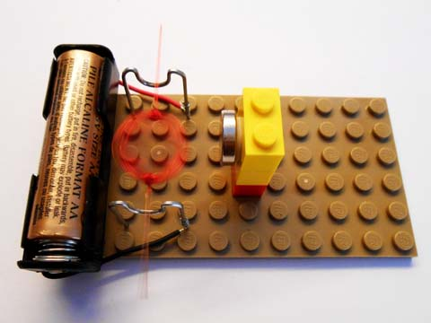 Motor, assembled from Kit #16
