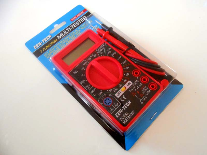 Basic multimeter