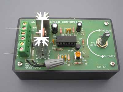 Dc Motor Controller Simple Electric Motors