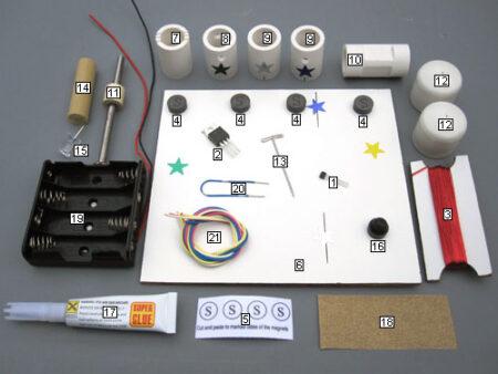 Kit 6 contents