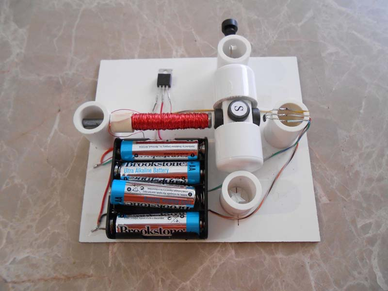 How To Build A Simple Electric Motor Science Experiments