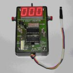 Assembled digital counter