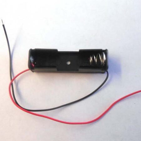 battery holder 1AA - front