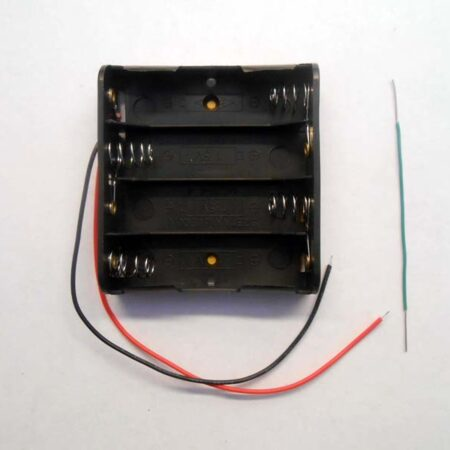 battery holder 4AA - front