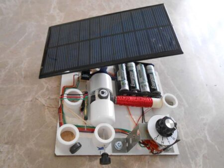 kit10 with solar panel