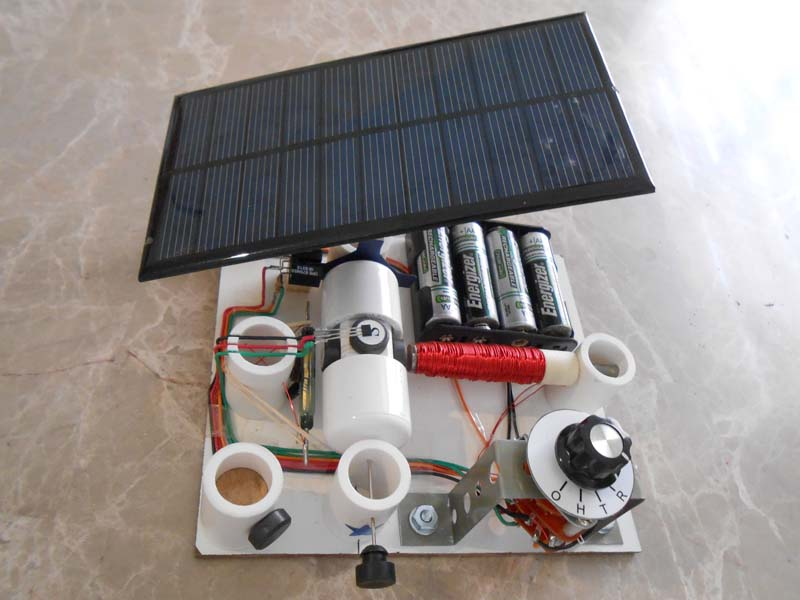 kit 10 all in one kit with switch and solar panel