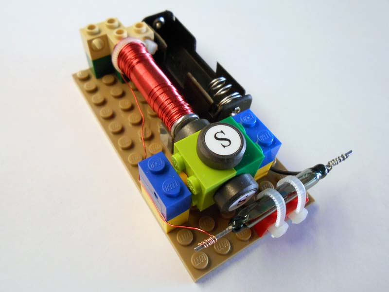 Kit 11 simple electric motors for Motor kits for kids