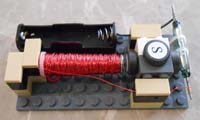 Motor #11 with four 1x2 tiles