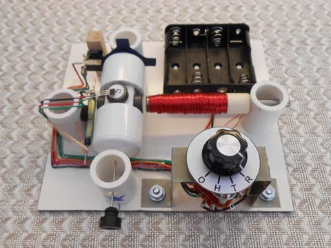 Assembled motor from kit #9