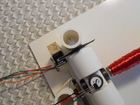 Optointerrupter on board - kit #9