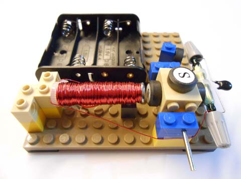 Motor, assembled from kit #13