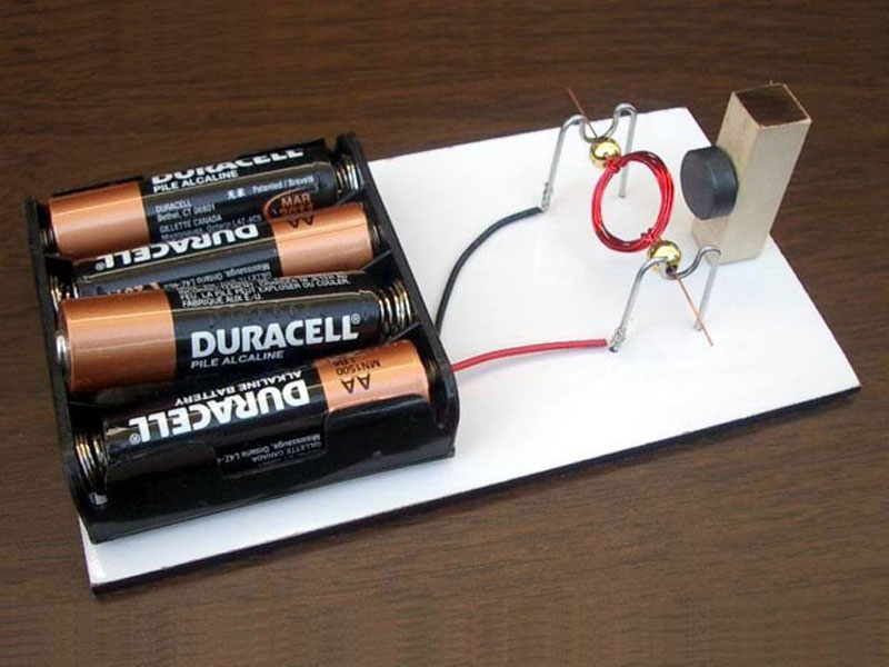 Simple Electric Motors | Award-winning Science Projects