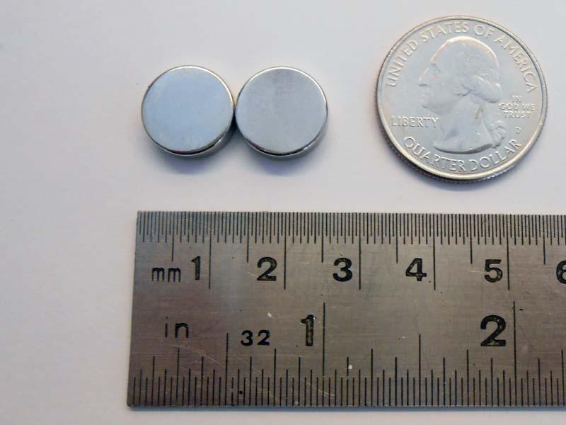 1/2″ x 1/8″ NdFeB magnets