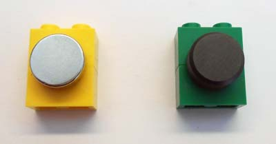 Two magnets