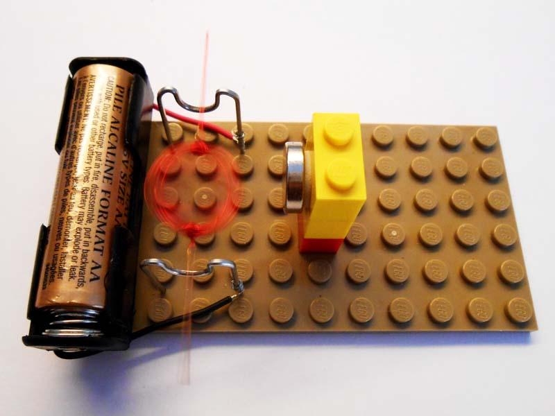 Kit 16 Simple Electric Motors